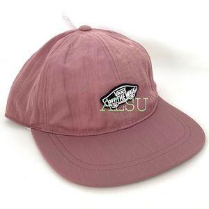 VANS Stow Away Women's Cap Pink Hat AUTHENTIC